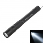 YIQUAN YQ-513 22W 6000K 120lm 1-LED Whtie Light 3-Mode Flashlight - Black (3 x AA Battery )