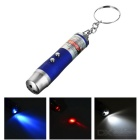 2-in-1 Laser and LED Flashlight with Cash Watermark Validate Function - Color Assorted (3xLR44)