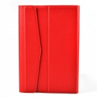 Protective PU Leather + Plastic Case Cover for 7-inch Tablet - Red
