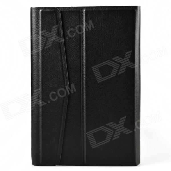 Protective PU Leather + Plastic Case Cover for 7-inch Tablet - Black