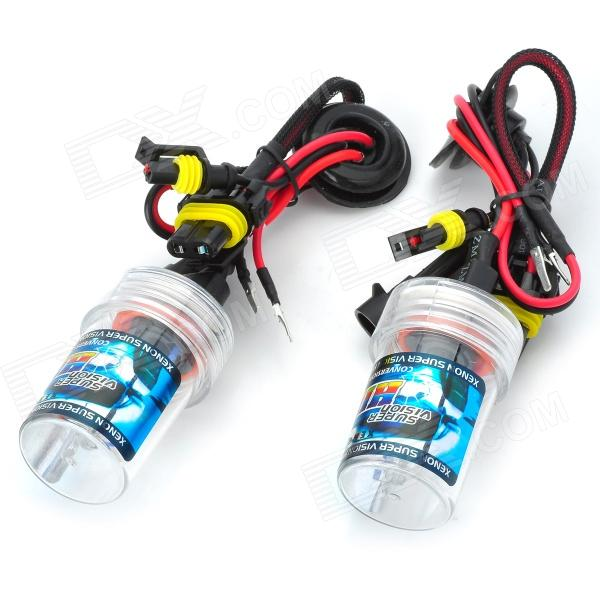 SENCART H8 / H9 / H11 55W 4500lm 8000K Cambridge Blue Car HID Headlamps (9~16V / Pair) cambridge young learners english flyers 5 answer booklet