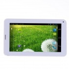 "RST01 3G Phone Android 4.2.2 Dual Core Tablet PC w/ 7"", 512MB RAM, 4GB ROM, GPS, Bluetooth - White"