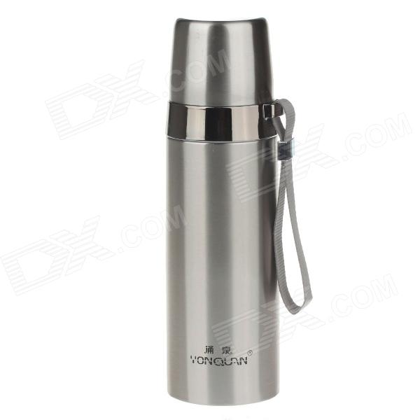 YongQuan YQB13 Portable Rope Vacuum Cup Bottle - Silver (480ml)  недорого