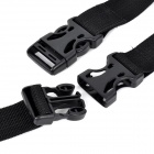 Portable Outdoor Reppu Nylon Strapping Tape - Musta