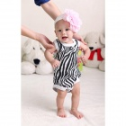 Doomagic Zebra Stripe Kid Clothes - Black + White (Free Size)