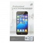 Protective Glossy PET Back Skin Guard Film for Iphone 5S - Transparent (3 PCS)