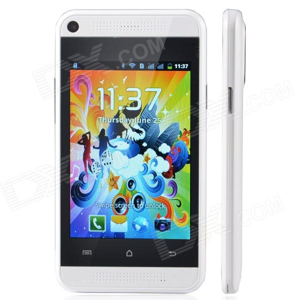 "DROID MALL D8 Android 2.3 GSM Smart Phone w/ 3.9"", Dual Camera, Wi-Fi - White"