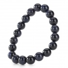 SDE-102 Natural Gemstone Bead Bracelet - Black