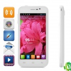 "Simple S138 Quad-Core Android 4.2 TD-SCDMA Bar Phone w/ 4.7"" Screen, Wi-Fi and FM - White"