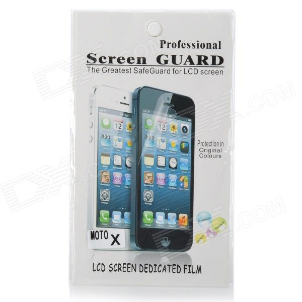 Protective Clear Screen Protector Film Guard for Moto X - Transparent