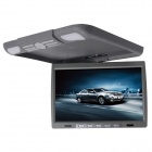 "Kangsung TU-1418 14"" High-Resolution Car Flip Down Monitor w/ 2-Channel AV Input - Grey"