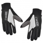 SPAKCT S13G10 Bicycle Cycling Full-finger Gloves - Black + White (XL)