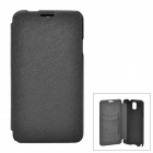 A005-3 Protective PU Leather Case for Samsung Galaxy Note 3 - Black