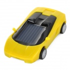 LH-010 Mini Solar Powered Sport Car - Yellow