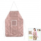ZhenXing FE7183 HQS-G106232 Waterproof Apron - Brown + White