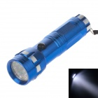100lm 7000K 14-LED Cool White Light 1-Mode Flashlight - Blue + Silver (3 x AAA Battery )