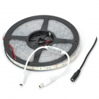 ZX-Y IP67 72W 2200lm 300-5050 SMD LED Warm White Light Strip - Black + White + Yellow (12V / 5M)