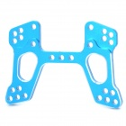 HSP 166022 Replacement Aluminum Alloy Front Shock Absorber Plate for 1:10 Oil Tank - Blue