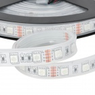 ZX-Y44 Waterproof 72W 4000lm 300-5050 SMD LED RGB Light Strip w/ Remote Controller - Black (12V)