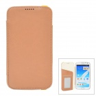 KALAIDENG Protective PU Leather Case for Samsung Galaxy Note 2 N7100 - Khaki