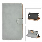 Retro Protective PU Leather Case for Samsung Galaxy Note 3 - Grey