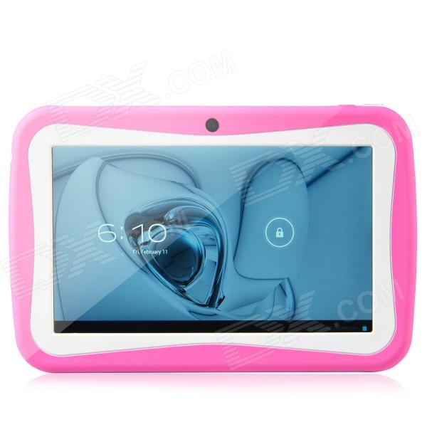 "R70BC 7"" Android Tablet PC w / 512 MB di RAM, 4GB ROM - rosa intenso + bianco"