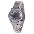 Daybird 3779 Stainless Steel Automatic Mechanical Men's Analog Wrist Watch - Silver + White + Blue