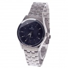 Daybird 3790 Stainless Steel Automatic Men's Wrist Watch w/ Simple Calendar - Black + Silver
