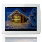 "Freelander PD80-3G 9.7"" IPS Quad-Core Android 4.2 Phone Tablet PC w/ 1GB RAM, 16GB ROM, GPS - White"