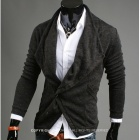 REVERIEUOMO WY30 Fashionable Leisure Men's Coat - Grey (Size-L)