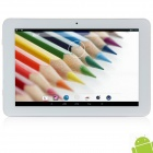 "H877 10.1"" IPS Android 4.2.2 Quad-Core Tablet PC w/ 1GB RAM, 16GB ROM, HDMI, Wi-Fi - White + Silver"
