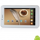 "AMPE A65 6.5"" Android 4.1.2 Dual-Core 3G Tablet PC w/ Phone call, Wi-Fi, Dual Camera, GPS - White"