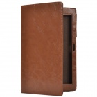 Crazy Horse Pattern 2-Folding Protective PU Leather Case Stand for Sony Xperia Tablet Z - Brown