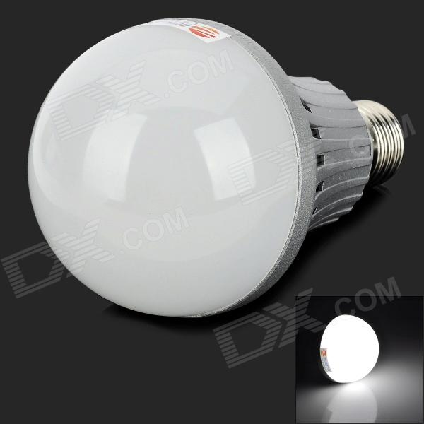 ZDM QE2785148W16L E27 16W 1500lm 6500K 34-SMD 5730 LED White Light Bulb - Silver + White (200~240V)