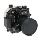 Meikon Underwater Diving Camera Waterproof Cover Case for Canon 650D 18~55mm Lens - Black