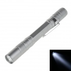 SMALL SUN ZY-720 50lm 6000K LED White Light 1-Mode Mini Flashlight - Silver (2 x AAA)
