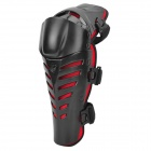 FG FG-112 Cool Protective PE + EVA + Neoprene Knee Guard for Riding Motorcycle - Black + Red (2PCS)