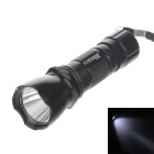 YIQUAN YQ-535A 100lm 6000K 1-LED White Light 1-Mode Flashlight - Black (3 x AAA)