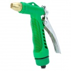 High Pressure Car Washing / Cleaning Gardening Gun w/ Valve Set - Green + Black + Silver