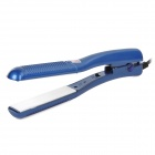 Weilandianqi HQS-I359-1007 Intelligent Electronic Hair Curler - Blue + White (2-Flat-Pin Plug)