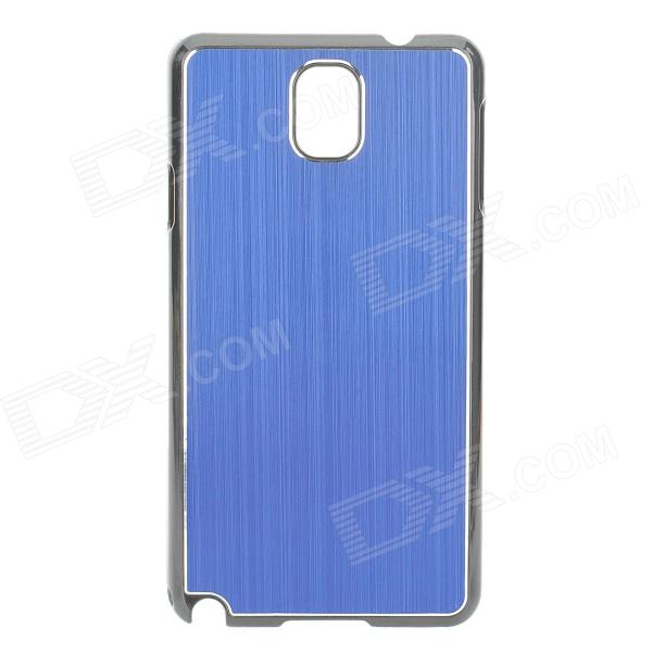 Protective Aluminum Alloy+ PC Back Case for Samsung Galaxy Note 3 / N9000 + More - Blue + Black protective aluminum alloy pc back case for samsung galaxy note 3 n9000 more purple black