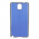 Protective Aluminum Alloy+ PC Back Case for Samsung Galaxy Note 3 / N9000 + More - Blue + Black