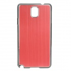 Protective Aluminum Alloy+ PC Back Case for Samsung Galaxy Note 3 / N9000 + More - Red + Black