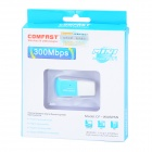 COMFAST CF-WU825N USB 2.0 Wireless Network Card / Wi-Fi Transmitter - Azul + Branco