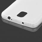 Protective TPU Back Case for Samsung Galaxy Note 3 / N9000 + More - Translucent White