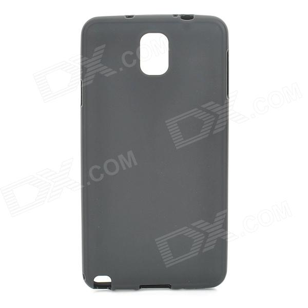 Protective TPU Back Case for Samsung Galaxy Note 3 / N9000 / N9005 / N9002 - Black