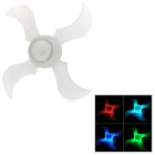 3 Mode Colorful Flashing Bicycle Wheel Safety Decoration Light - White
