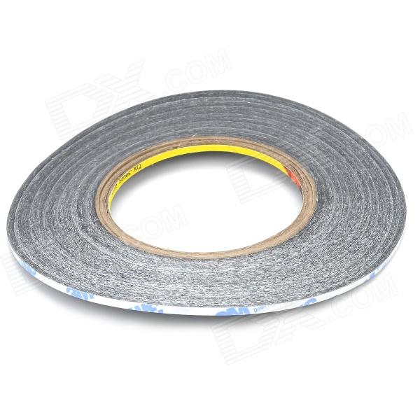 M001 3mm*50m Double Sided Tape - BlackOther Tools<br>ModelM001Quantity1Form  ColorBlackMaterial3MPacking List1 x Tape<br>