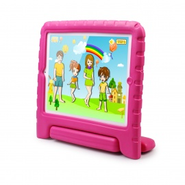 Mocreo FUNCASE Child Safe Kids Friendly Foam Protective Case for Ipad 2 / 3 / 4 - Pink
