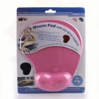 M-013 Ergonomic Wrist Guard Mouse Pad - Pink